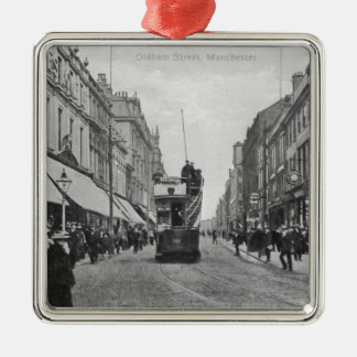 オルダム通り、マンチェスター、c.1910 メタルオーナメント