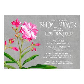 オレアンダーのブライダルシャワー招待状 カード