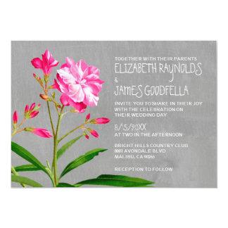 オレアンダーの結婚式招待状 カード
