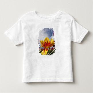 オレゴンのカラフルの咲くチューリップの閉めて下さい トドラーTシャツ