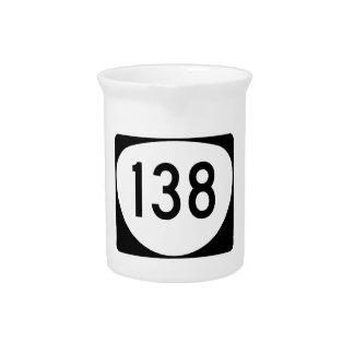 オレゴンのルート138 ピッチャー