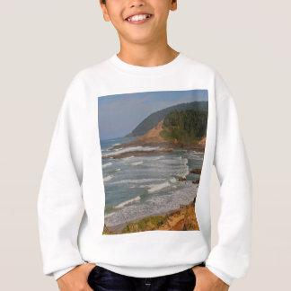 オレゴンの中央海岸 スウェットシャツ