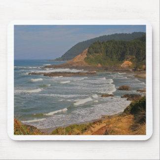 オレゴンの中央海岸 マウスパッド