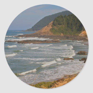 オレゴンの中央海岸 ラウンドシール