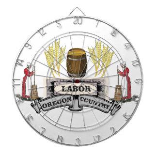 オレゴンの労働の国 ダーツボード
