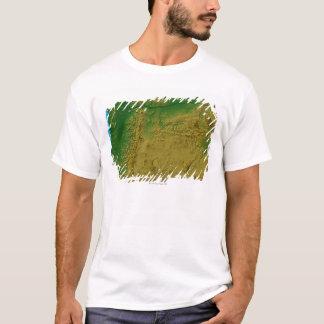 オレゴンの地図 Tシャツ
