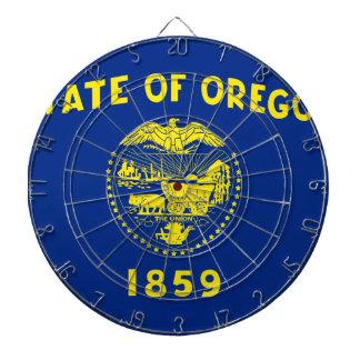 オレゴンの州の旗 ダーツボード