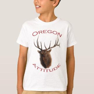 オレゴンの態度 Tシャツ