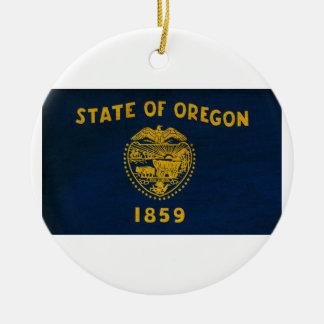 オレゴンの旗 セラミックオーナメント