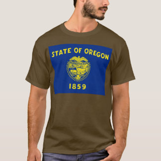 オレゴンの旗 Tシャツ