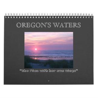 オレゴンの水 カレンダー