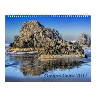 オレゴンの沿岸イメージ カレンダー