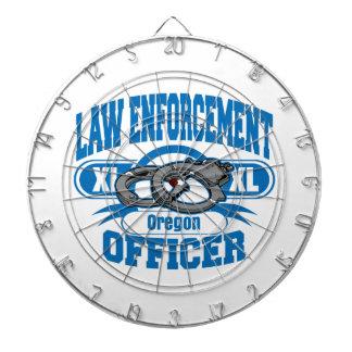 オレゴンの法執行官の手錠 ダーツボード