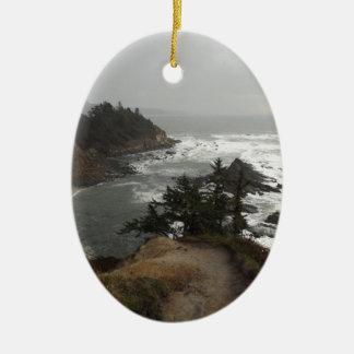 オレゴンの海岸の美しい部分 セラミックオーナメント