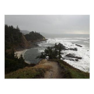 オレゴンの海岸の美しい部分 ポストカード