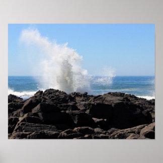 オレゴンの海岸ポスター ポスター