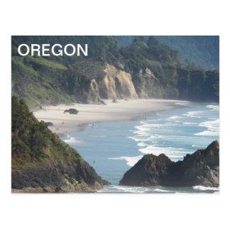オレゴンの海岸線旅行写真 ポストカード