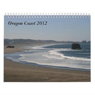 オレゴンの海岸2012年 カレンダー