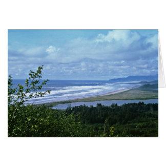 オレゴンの海岸 カード