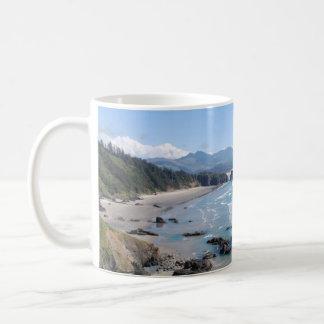 オレゴンの海岸 コーヒーマグカップ