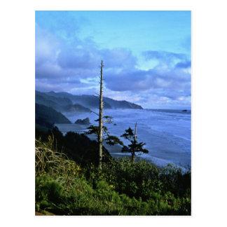 オレゴンの海岸 ポストカード