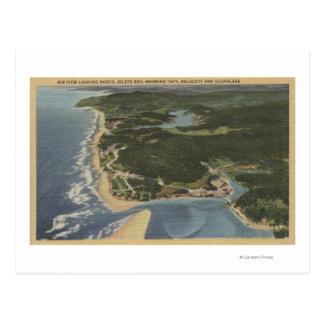 オレゴンの海岸- Siletz湾、タフト、Nelscott ポストカード