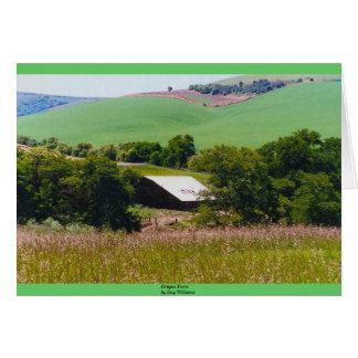 オレゴンの農場 カード