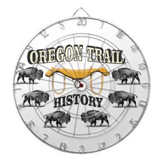 オレゴンの道の歴史の芸術 ダーツボード