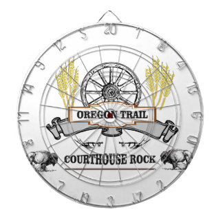 オレゴンの道の裁判所の石 ダーツボード