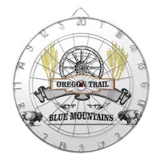 オレゴンの道は青を飼いならします ダーツボード