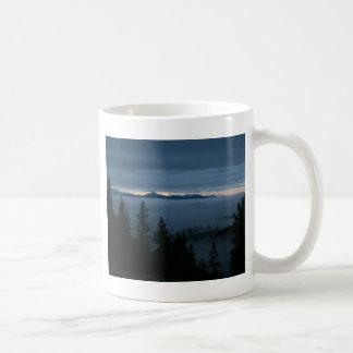 オレゴンの青 コーヒーマグカップ