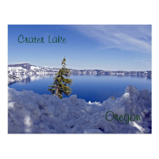 オレゴンのcrater湖 ポストカード