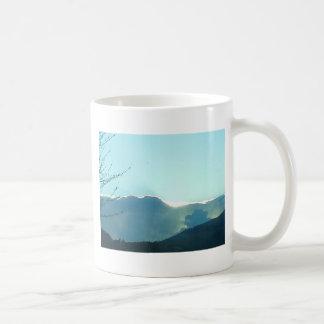 オレゴンのmoutains コーヒーマグカップ