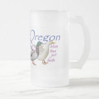オレゴン フロストグラスビールジョッキ