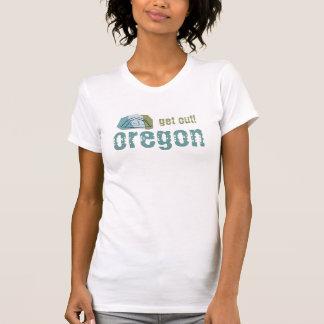 オレゴン。 出て下さい! Tシャツ