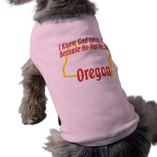 オレゴン-神は私を愛します ペット服