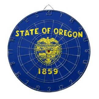 オレゴン、米国の旗が付いているダート盤 ダーツボード