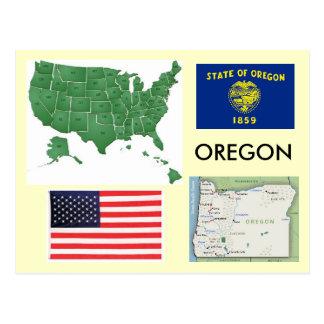 オレゴン、米国 ポストカード