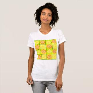 オレンジおよびレモンレディースTシャツ Tシャツ