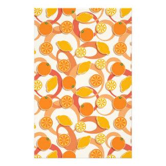 オレンジおよびレモン 便箋