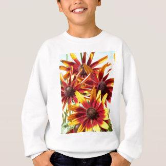 オレンジおよび黄色のConeflowers スウェットシャツ