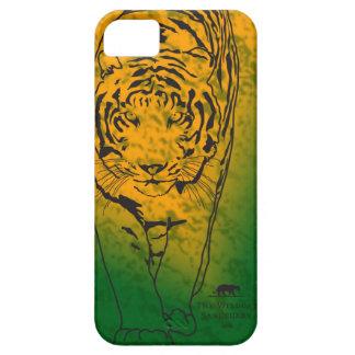 オレンジか緑LillyのステンシルiPhone 5の場合 iPhone SE/5/5s ケース