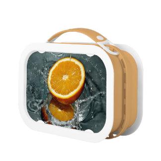 オレンジしぶきのお弁当箱 ランチボックス