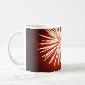 オレンジしぶき コーヒーマグカップ