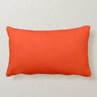 オレンジである腰神経の枕 ランバークッション