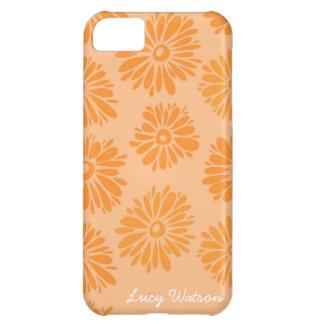 オレンジによってはiPhone 5の箱が開花します iPhone5Cケース
