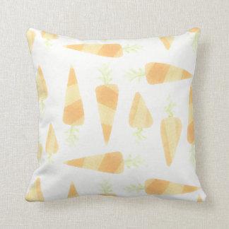 オレンジにんじんの枕 クッション
