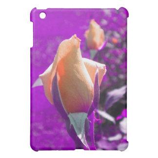 オレンジのばら色の芽のiPadの箱 iPad Miniカバー