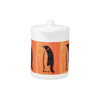 オレンジのペンギン