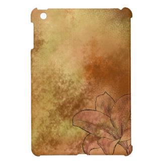 オレンジのユリ iPad MINIケース